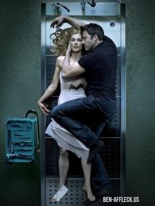 Foto do Fincher para capa da EW e que putz, putz, putz, deveria ser pôster do filme.