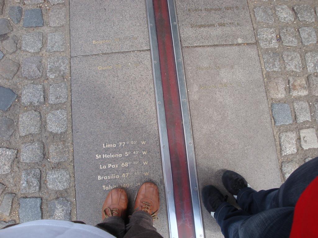 Turistando em Greenwich.