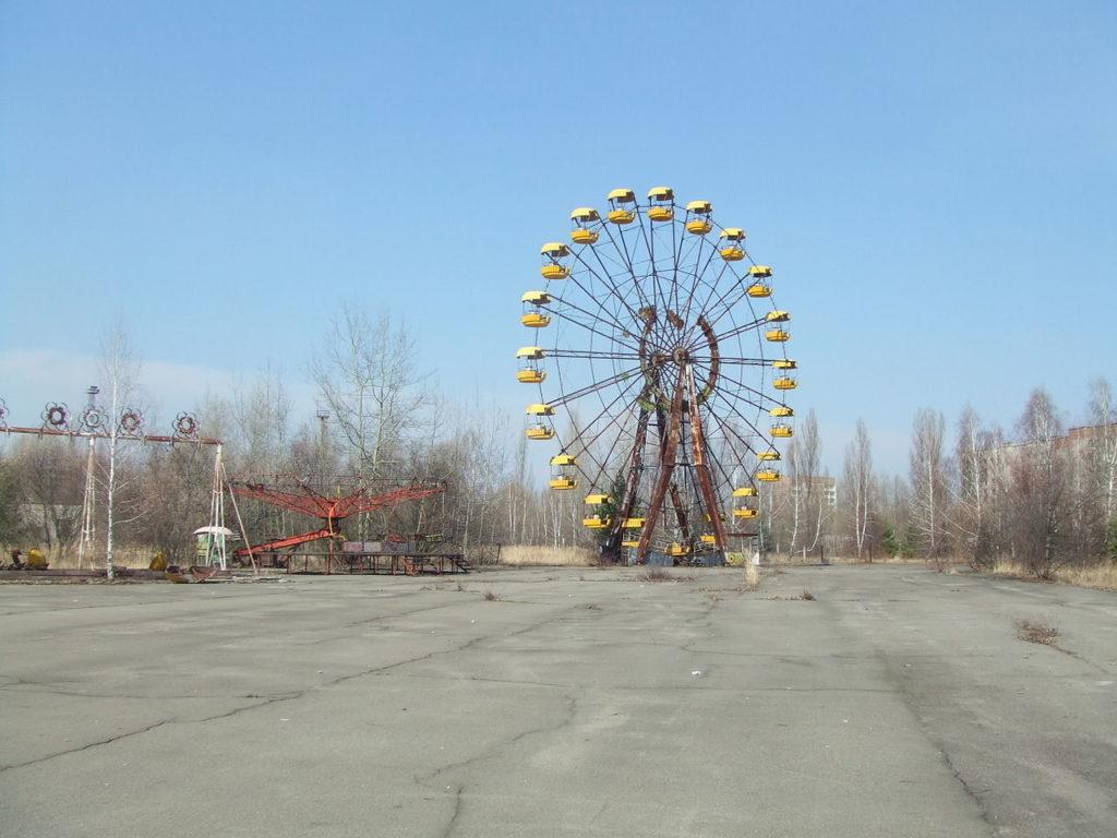 A roda-gigante. Foto de Justin Stahlman.