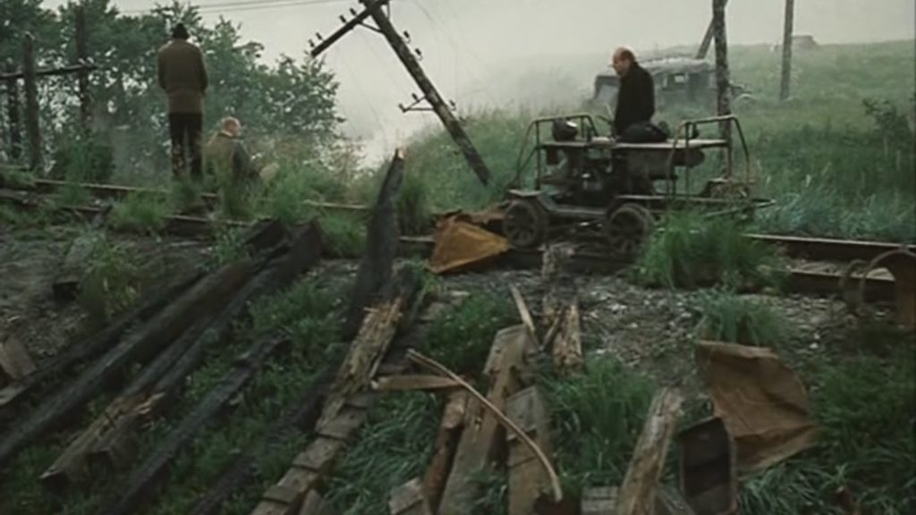 Cena do filme Stalker (1979).